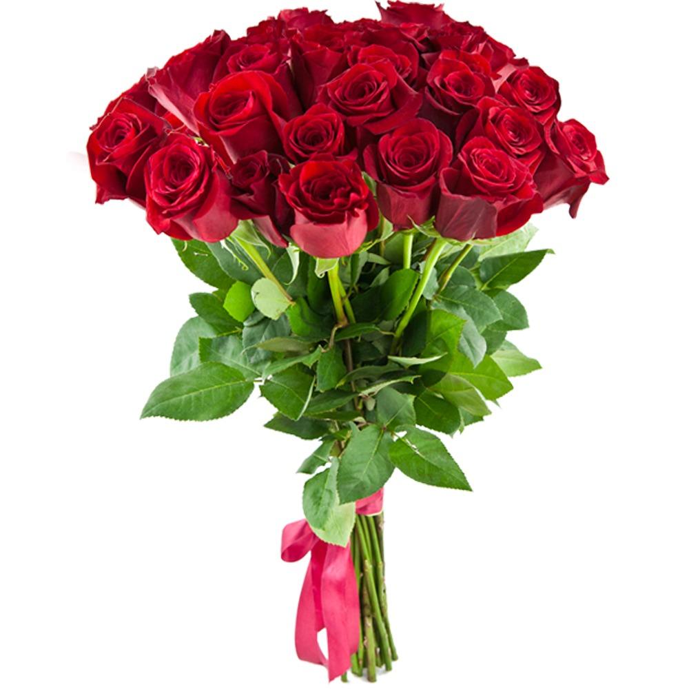 Цветы роза 25 см купить заказать букет фиалок