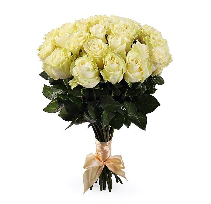 Купить белые розы, купить 19 роз, купить розы с доставкой., доставка роз