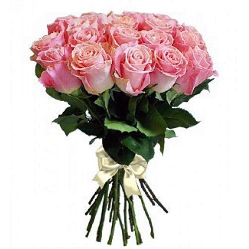 Купить розовые розы, купить 19 роз, купить розы с доставкой., доставка роз